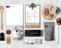 Logotype And Pattern /IAMSTERDAM/ Full Branding