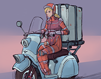 Scooter concept
