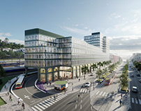 New headquarters SZDC competition. PELCAK AND PARTNERS.