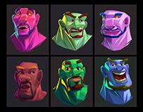 Portrait #Character Design