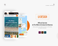 Ile d'Oléron - Marennes: UI design / Art direction