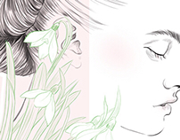 Hair and Beauty Illustration