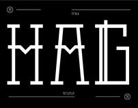 Hagen - Typeface