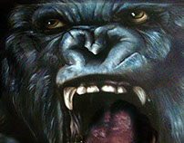 king kong airbrush