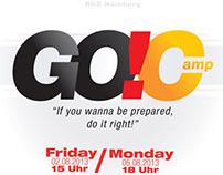GO!Camp 2013 - flyer & extra