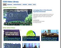 Video Library IA + Design