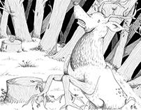 El bosque sin ciervos