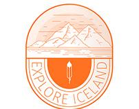 Explore Iceland Badge