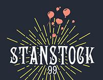 Stanstock 99 - Logo design