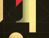 """Matthew Carter """"T"""" poster"""