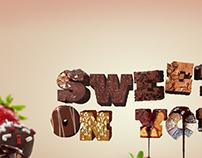 Sweet typography