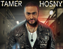 design poster for Tamer Hosny