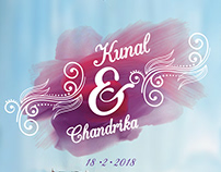 Wedding Card - Kunal & Chandrika