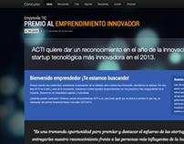 Concurso Emprendimiento ACTI