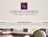 Floriano & Barbosa - Website