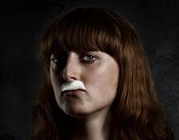 Foam Moustache
