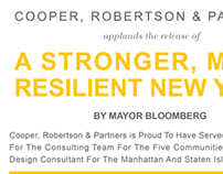 A Stronger, More Resilient NY After Hurricane Sandy