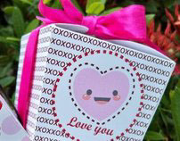 candy boxes for valentine's day