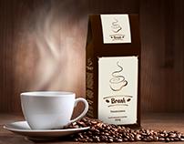 Logotipo Café Break