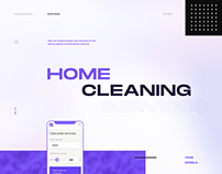 Executive Cleaning Services / UX/UI/ Website