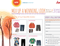 Umi & Hanna Anderson Promotion Website
