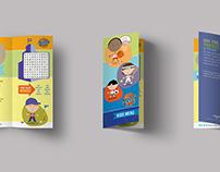 WAC Kid's Menu / Brochure