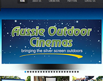 Aussie Outdoor Cinemas Logo Recreation