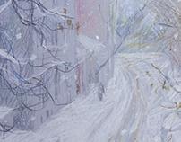 Голиковский переулок зимой.