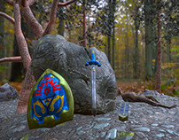 Diorama: The Legend of Zelda