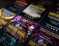 Earths Soul Flyer PSD Template