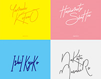 Signature Designs for Japanese Names