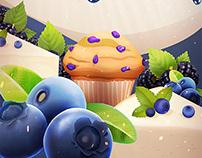 Dessert backgrounds
