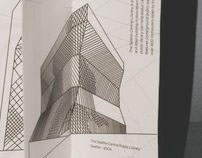 Catalogue and Poster for Rem Koolhaas