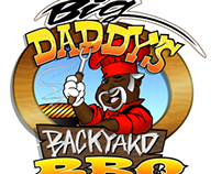 Big Daddy's Backyard BBQ (Vectorization Process)