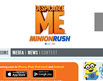 Minisite - Despicable Me 2 - Minion Rush @Gameloft