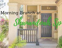 Morning Brunch at Shanandoah Springs