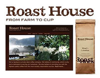 Branding & Design: Roast House