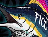 FICOExtreme giant fishingBLUE MARLIN illustration