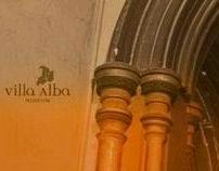 Villa Alba identity design & promotional collateral