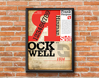 Poster Rockwell - Typography