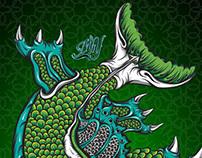 Gajah Mina (sea beast)