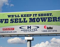 Hoekstra Sells Mowers
