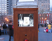 Document - installation in Washington Square Park, NY