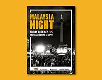 Malaysia Night Poster