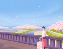 『京都産業大学ブランディングポスター 3月』