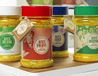 Packaging Design for Le Patron Orior Menu AG