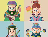 八仙 The Eight Immortals