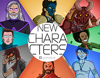 New characters (5 years later)