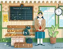 Various illustrations (2021)
