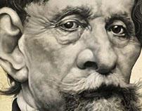 Caricatura Charles Dickens